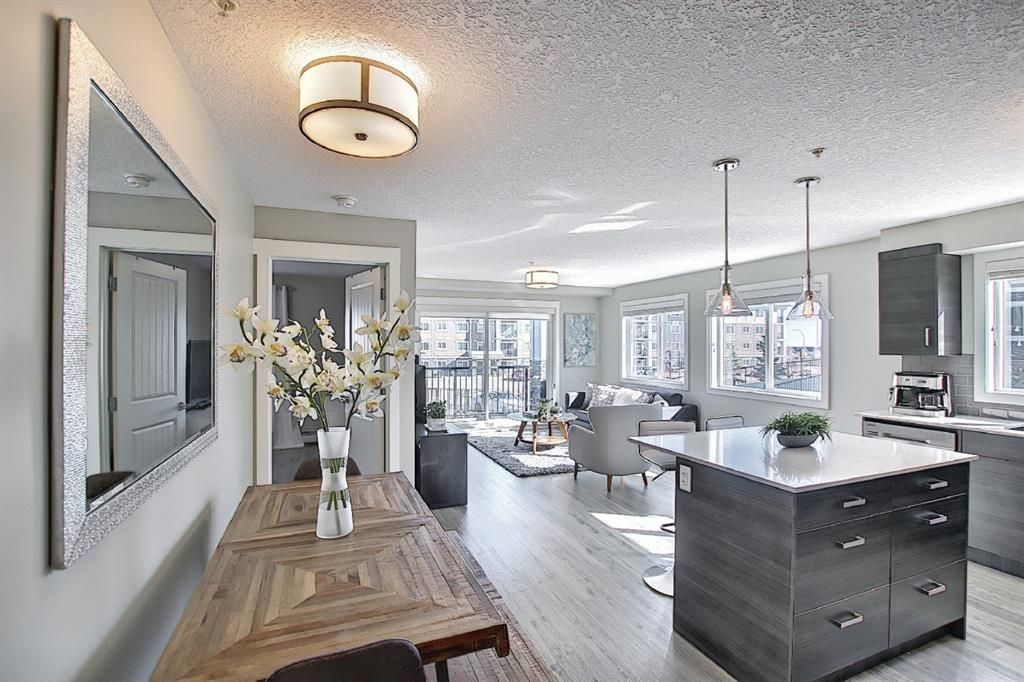 Main Photo: 4111 450 Sage Valley Drive NW in Calgary: Sage Hill Apartment for sale : MLS®# A1080165