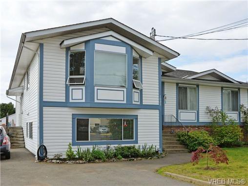 Main Photo: 1025 Goldstream Ave in VICTORIA: La Langford Proper Half Duplex for sale (Langford)  : MLS®# 699433