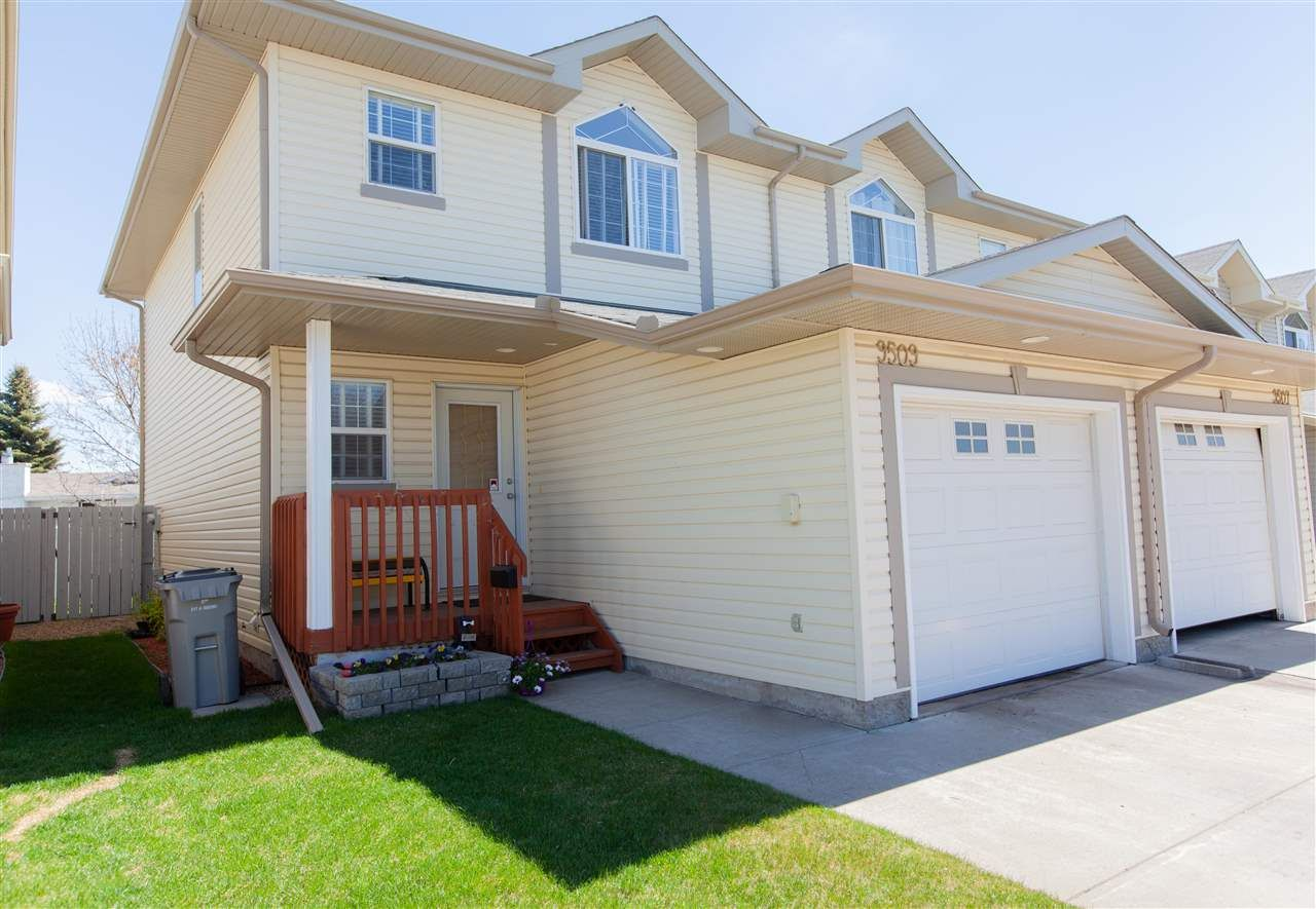 Main Photo: 9509 99 Street: Morinville Townhouse for sale : MLS®# E4249970