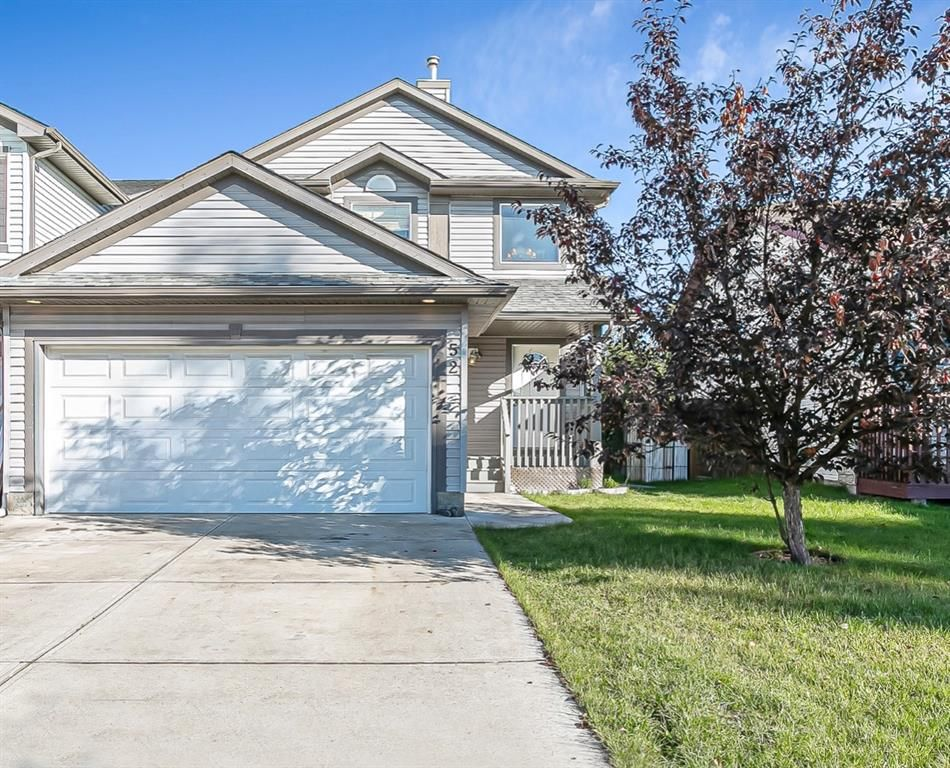 Main Photo: 52 Canoe Square SW: Airdrie Semi Detached for sale : MLS®# A1147457