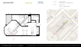 """Photo 13: 514 950 DRAKE Street in Vancouver: Downtown VW Condo for sale in """"Anchor Point 2"""" (Vancouver West)  : MLS®# R2591063"""
