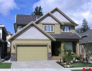 """Photo 1: 3569 150A ST in Surrey: Morgan Creek House for sale in """"Rosemary West"""" (South Surrey White Rock)  : MLS®# F2609383"""