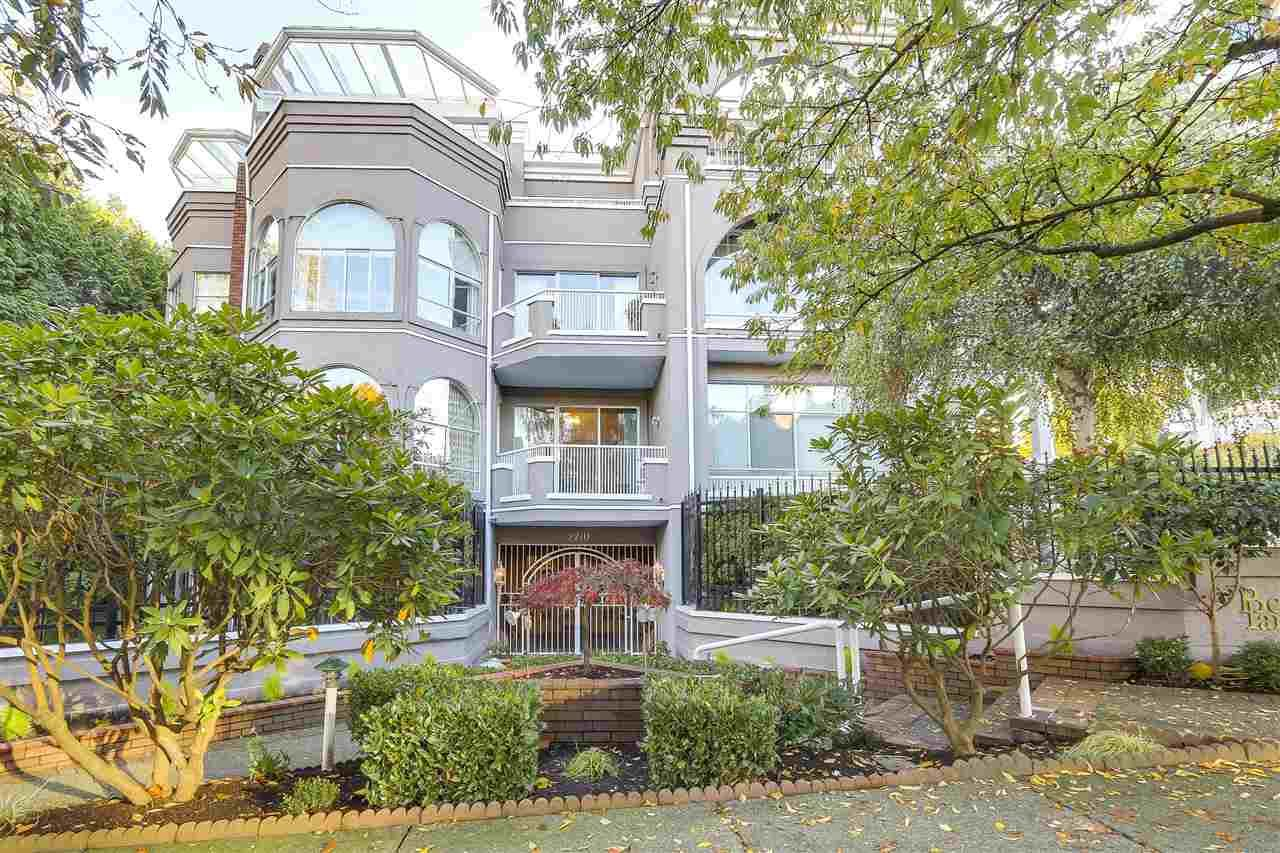Main Photo: 201 2210 W 40TH Avenue in Vancouver: Kerrisdale Condo for sale (Vancouver West)  : MLS®# R2218171