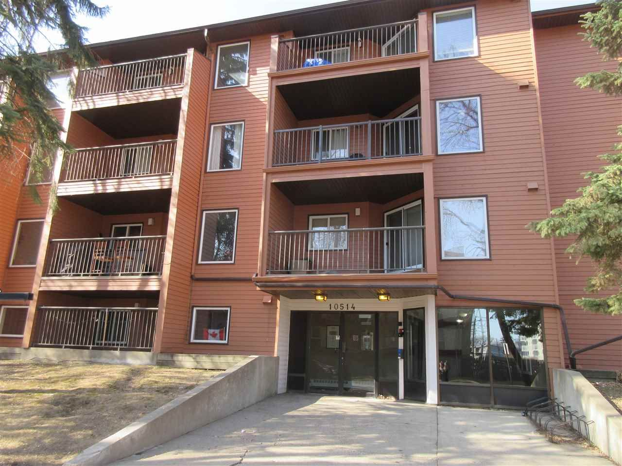 Main Photo: 320 10514 92 Street in Edmonton: Zone 13 Condo for sale : MLS®# E4236987