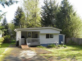 Photo 1: 1 2530 MacAulay Rd in BLACK CREEK: CV Merville Black Creek Manufactured Home for sale (Comox Valley)  : MLS®# 727923