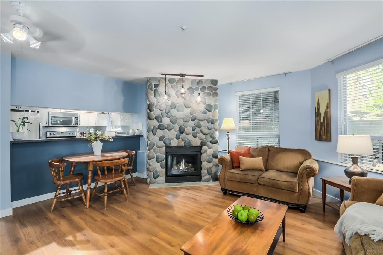 "Main Photo: 101 8430 JELLICOE Street in Vancouver: Fraserview VE Condo for sale in ""THE BOARDWALK"" (Vancouver East)  : MLS®# R2005014"