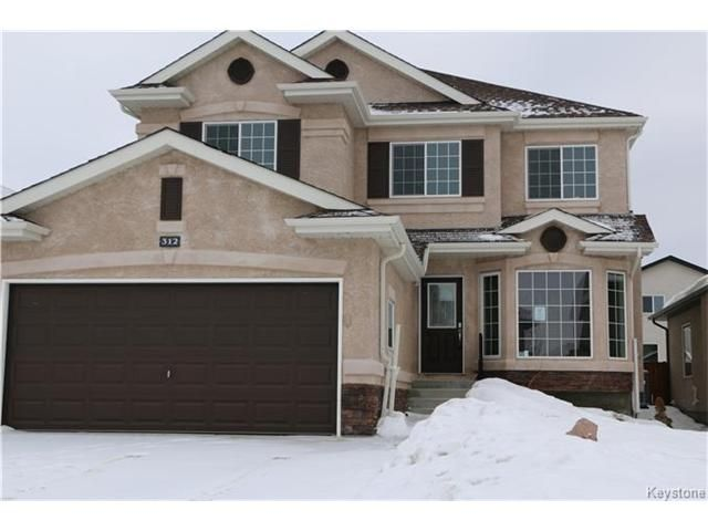 Main Photo: 312 Mosselle Drive in Winnipeg: Amber Trails Residential for sale (4F)  : MLS®# 1701618