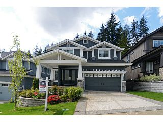 Photo 1: 1360 KINGSTON ST in Coquitlam: Burke Mountain House for sale : MLS®# V1120985