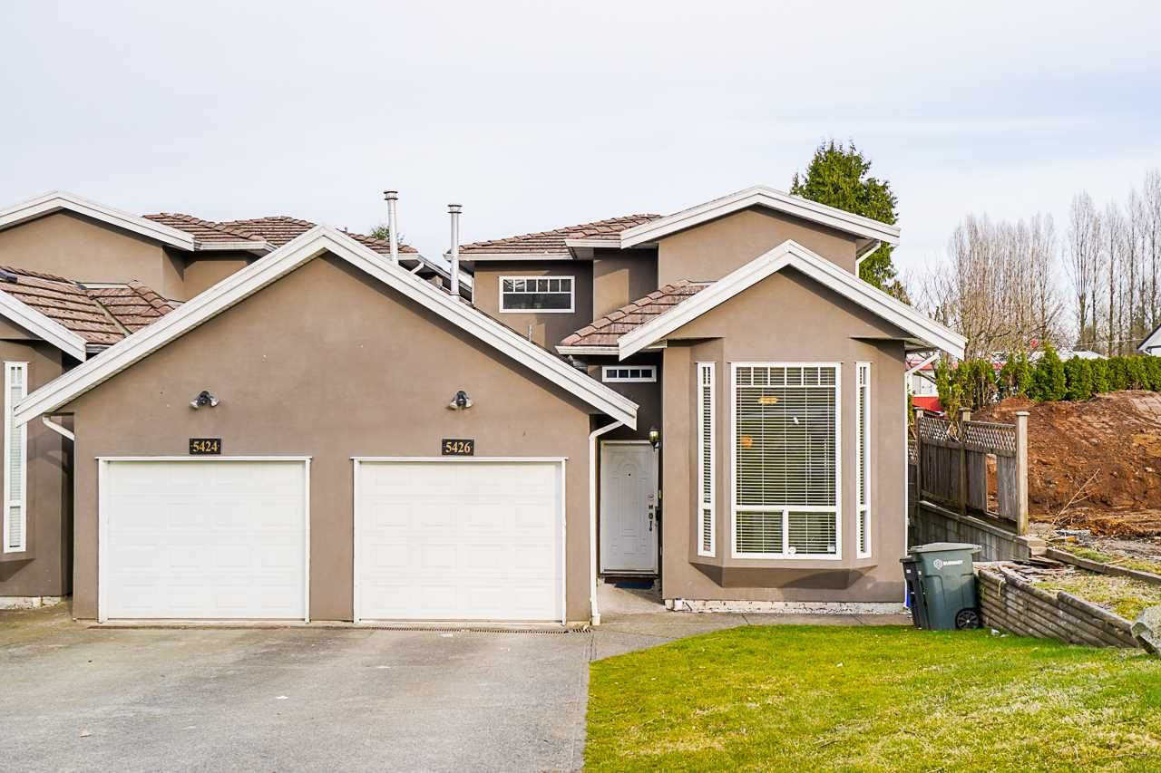 Main Photo: 5426 CHAFFEY Avenue in Burnaby: Central Park BS 1/2 Duplex for sale (Burnaby South)  : MLS®# R2550732