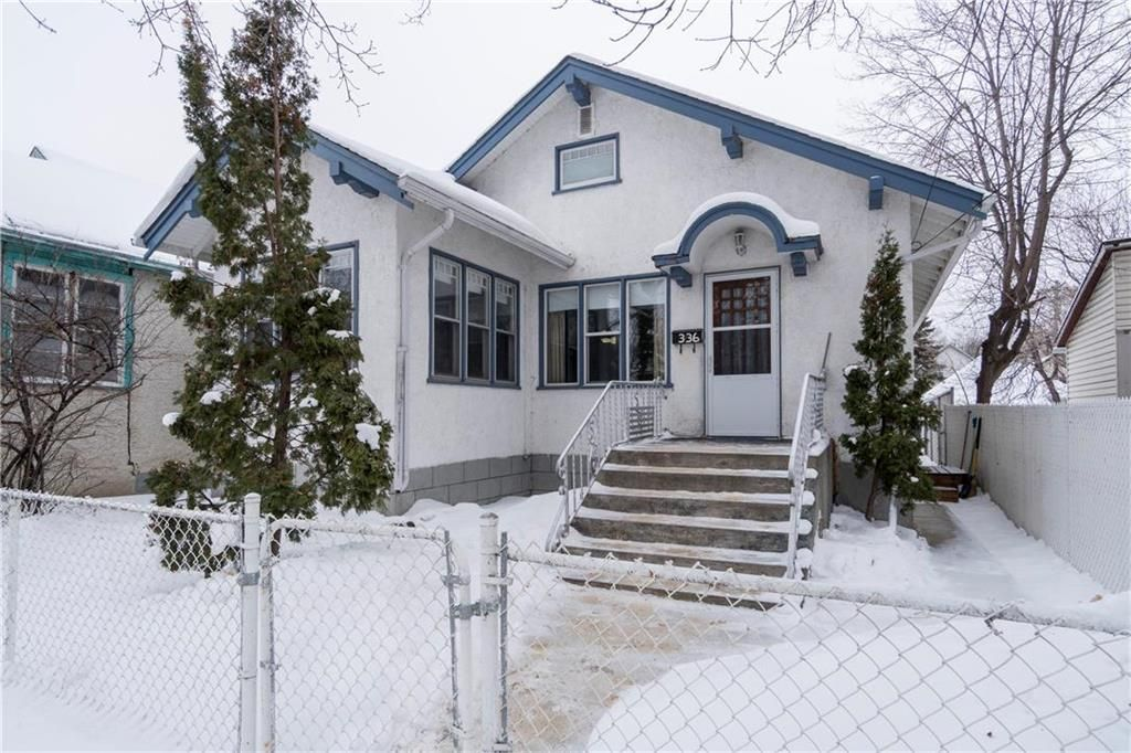 Main Photo: 336 Burrows Avenue in Winnipeg: Residential for sale (4A)  : MLS®# 202002418