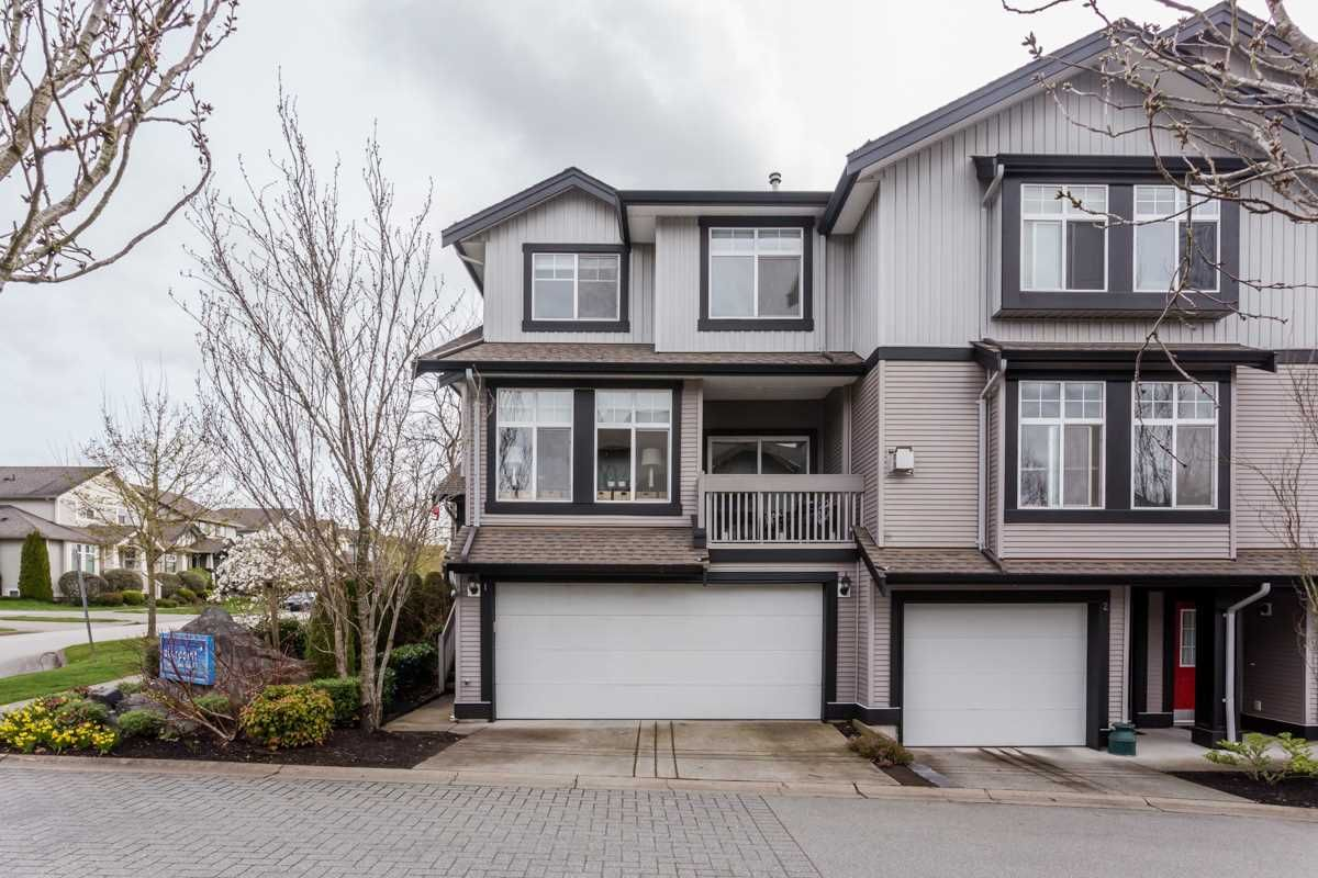 """Main Photo: 1 18828 69 Avenue in Surrey: Clayton Townhouse for sale in """"Starpoint"""" (Cloverdale)  : MLS®# R2255825"""