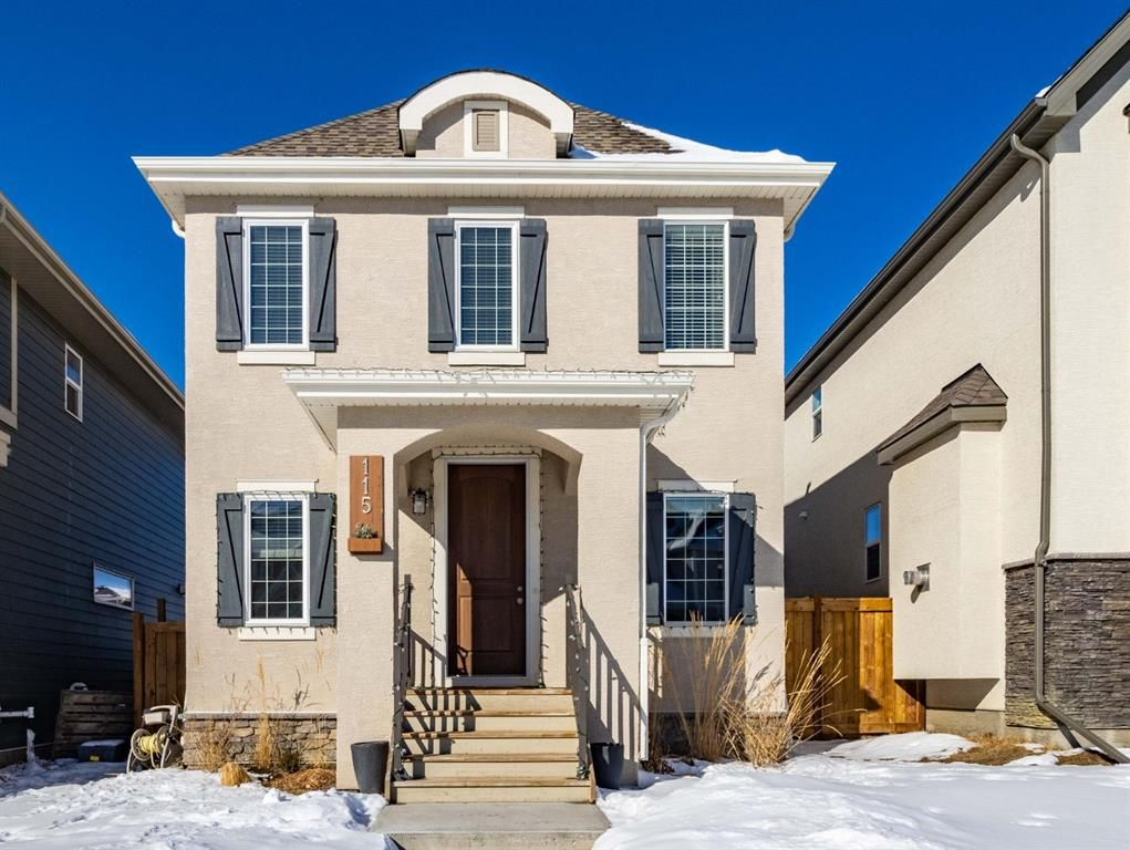 Main Photo: 115 Marquis Court SE in Calgary: Mahogany Detached for sale : MLS®# A1071634