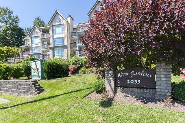 "Main Photo: 203 22233 RIVER Road in Maple Ridge: West Central Condo for sale in ""RIVER GARDENS"" : MLS®# R2186358"