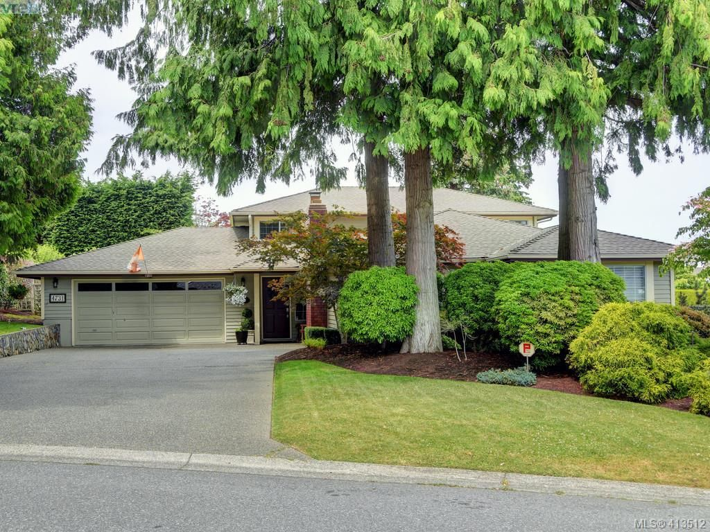 Main Photo: 4731 AMBLEWOOD Dr in VICTORIA: SE Cordova Bay House for sale (Saanich East)  : MLS®# 820003