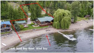 Photo 4: 1635 Blind Bay Road in Sorrento: WATERFRONT House for sale (SORRENTO)  : MLS®# 10213359