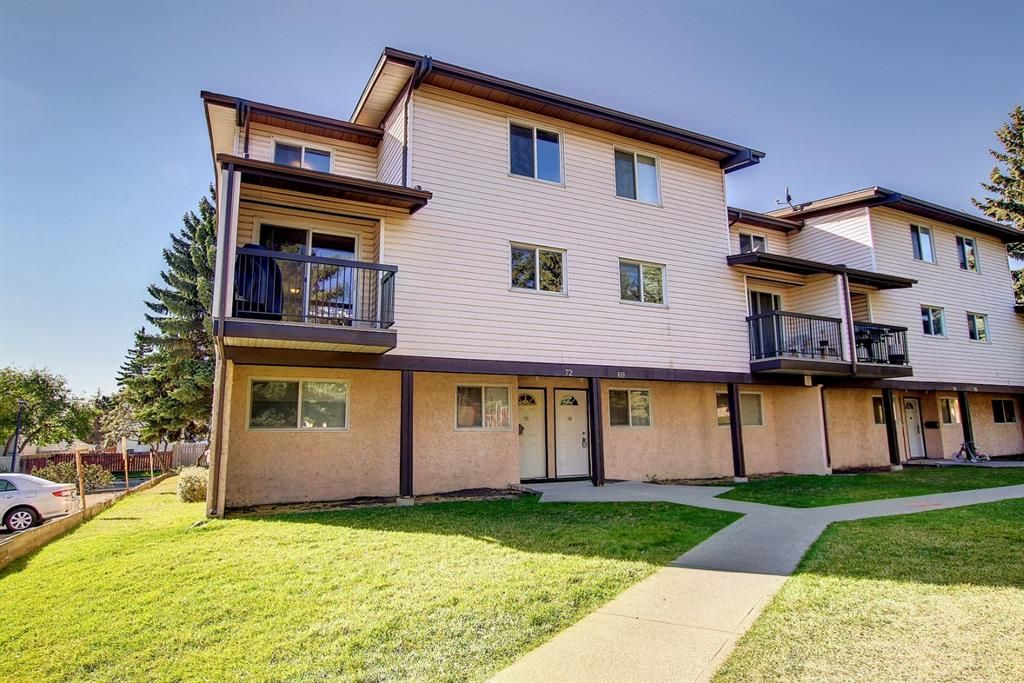Main Photo: 72 3745 Fonda Way SE in Calgary: Forest Heights Row/Townhouse for sale : MLS®# A1151099
