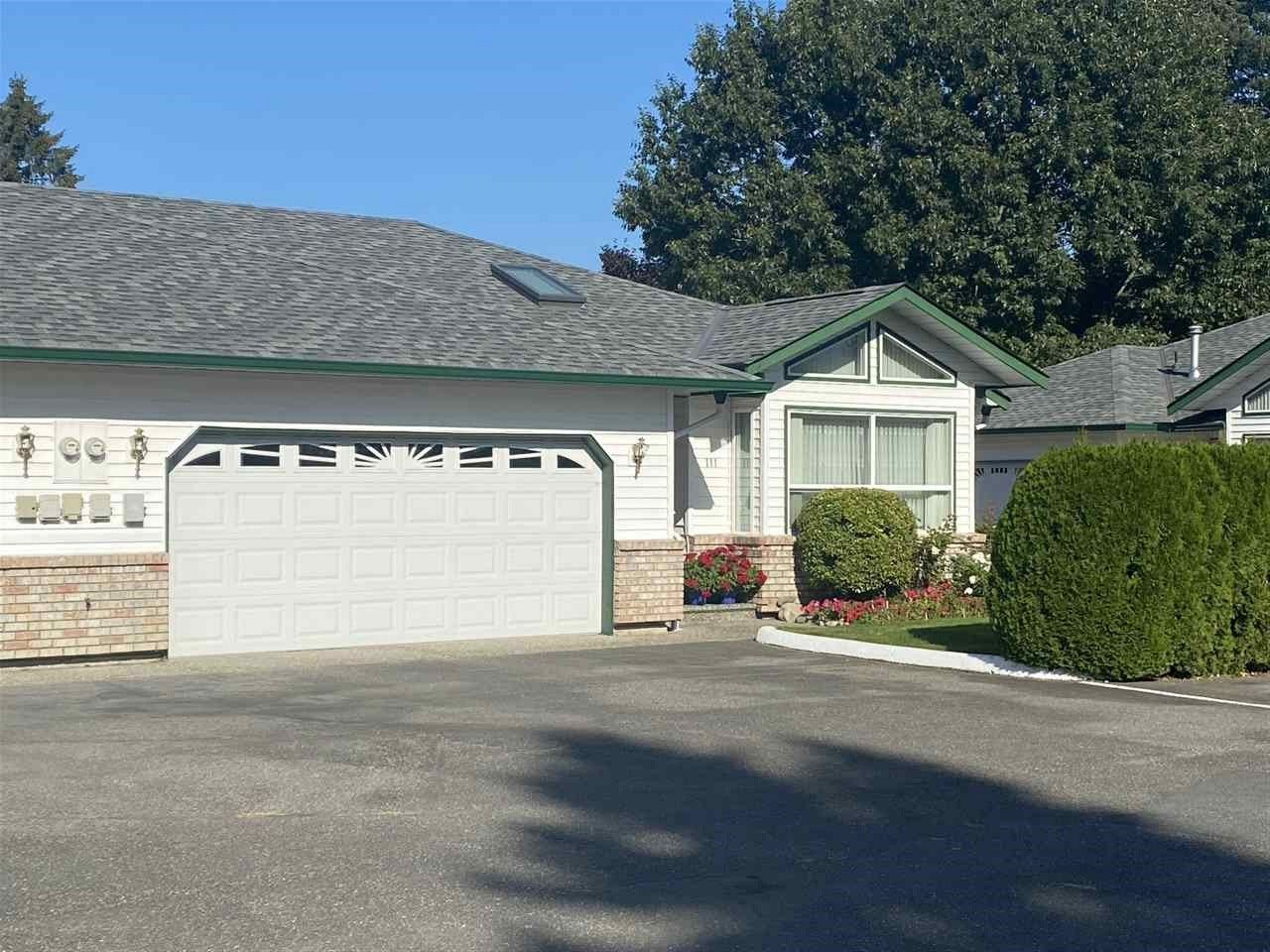 Main Photo: 111 9344 WOODBINE STREET in Chilliwack: Chilliwack E Young-Yale Townhouse for sale : MLS®# R2507540
