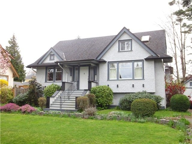 Main Photo: 5988 MARGUERITE ST in Vancouver: South Granville House for sale (Vancouver West)  : MLS®# V1112410