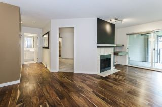 """Photo 1: 421 6707 SOUTHPOINT Drive in Burnaby: South Slope Condo for sale in """"MISSION WOODS"""" (Burnaby South)  : MLS®# R2348752"""