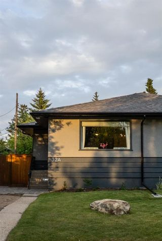 Photo 1: 32A Wellington Place SW in Calgary: Wildwood Semi Detached for sale : MLS®# A1117733