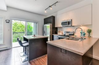 "Photo 3: 49 3010 RIVERBEND Drive in Coquitlam: Coquitlam East Townhouse for sale in ""WESTWOOD"" : MLS®# R2292233"