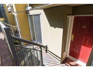 """Photo 9: 30 795 W 8TH Avenue in Vancouver: Fairview VW Townhouse for sale in """"DOVER POINTE"""" (Vancouver West)  : MLS®# V1002924"""