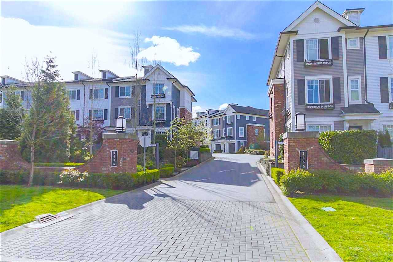 Main Photo: 2016 2655 BEDFORD STREET in : Central Pt Coquitlam Townhouse for sale : MLS®# R2402932