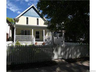 Photo 1: 647 Ashburn Street in Winnipeg: West End / Wolseley Residential for sale (West Winnipeg)  : MLS®# 1615292