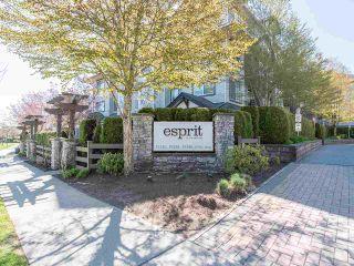 """Photo 1: 411 19340 65 Avenue in Surrey: Clayton Condo for sale in """"Esprit"""" (Cloverdale)  : MLS®# R2557307"""