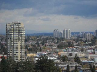 """Photo 8: 2301 6521 BONSOR Avenue in Burnaby: Metrotown Condo for sale in """"SYMPHONY 1"""" (Burnaby South)  : MLS®# V885133"""