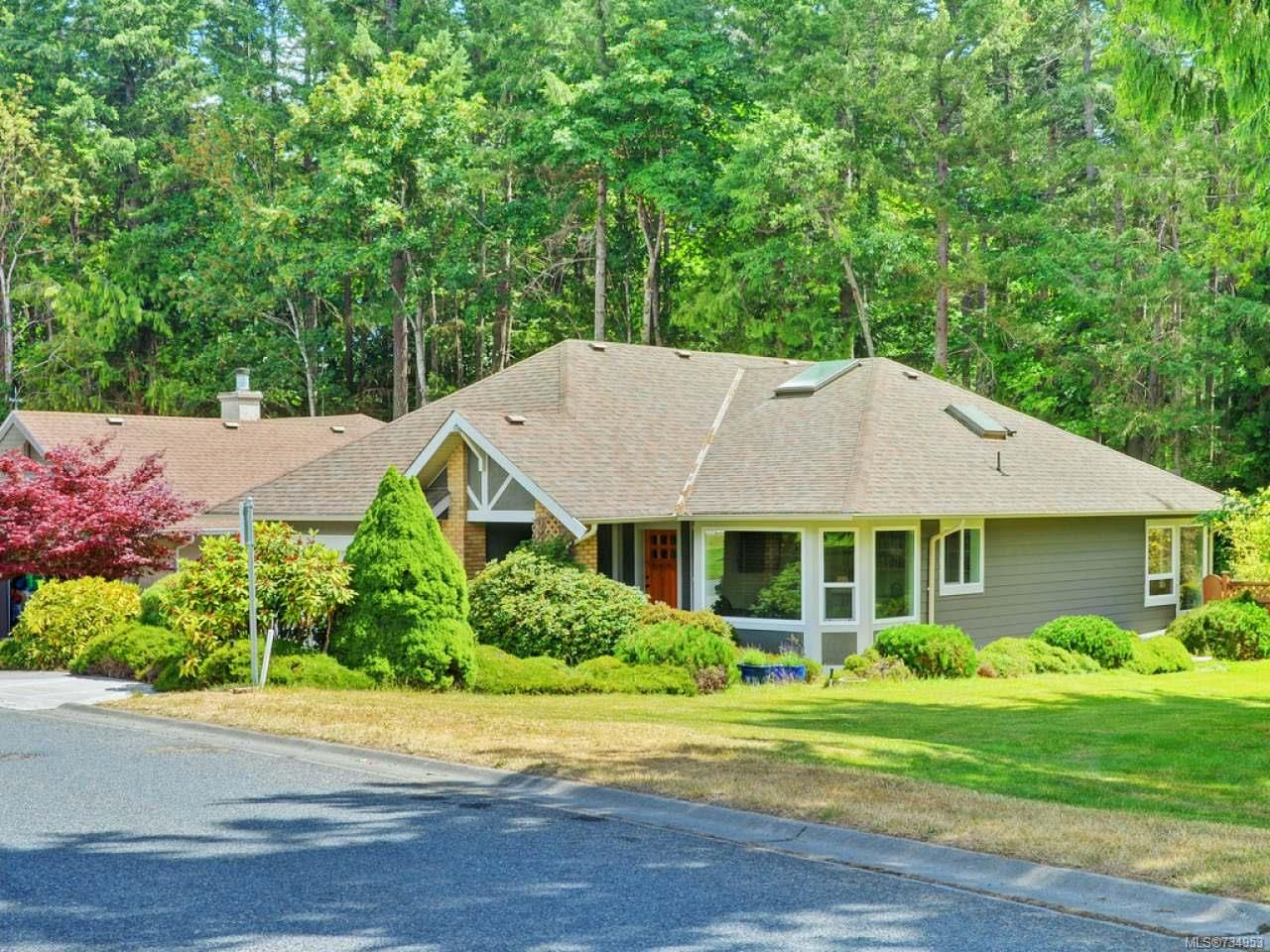 Main Photo: 3519 S Arbutus Dr in COBBLE HILL: ML Cobble Hill House for sale (Malahat & Area)  : MLS®# 734953