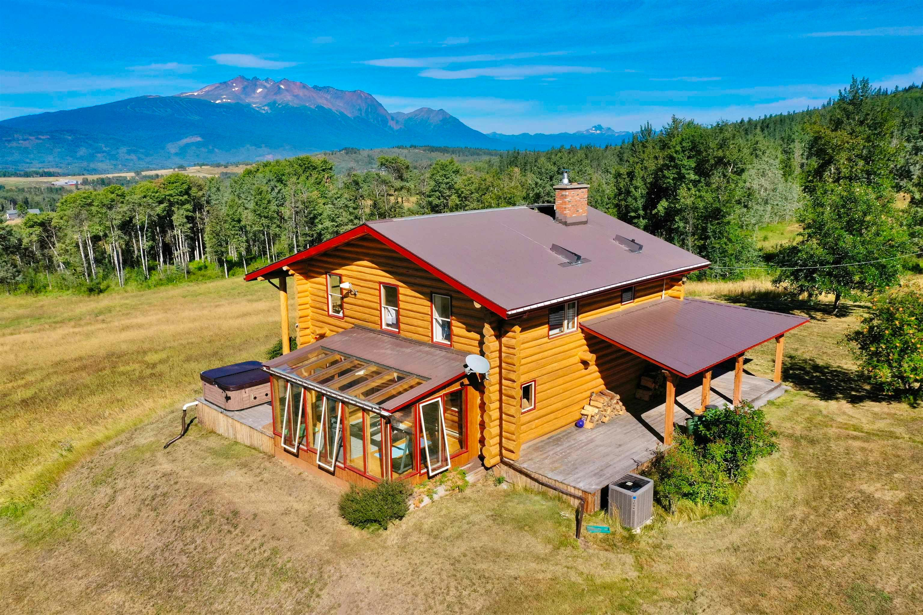 Main Photo: 6289 BABINE LAKE Road in Smithers: Smithers - Rural House for sale (Smithers And Area (Zone 54))  : MLS®# R2609629