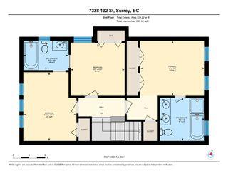 Photo 32: 7328 192 Street in Surrey: Clayton 1/2 Duplex for sale (Cloverdale)  : MLS®# R2536920