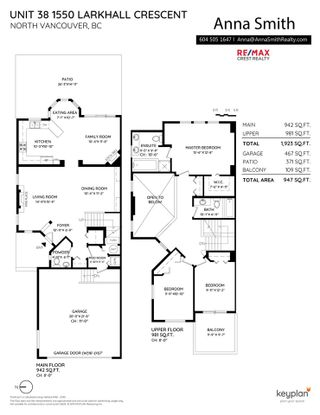 """Photo 40: 38 1550 LARKHALL Crescent in North Vancouver: Northlands Townhouse for sale in """"Nahanee Woods"""" : MLS®# R2545502"""