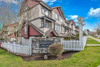 """Photo 24: 25 7168 179 Street in Surrey: Clayton Townhouse for sale in """"Ovation"""" (Cloverdale)  : MLS®# R2557791"""