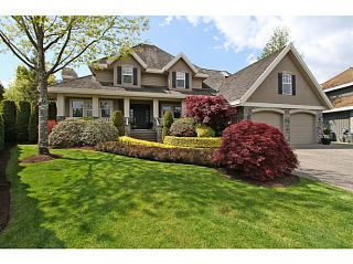 Photo 1: 15808 SOMERSET PL in Surrey: Morgan Creek House for sale (South Surrey White Rock)  : MLS®# F1440495