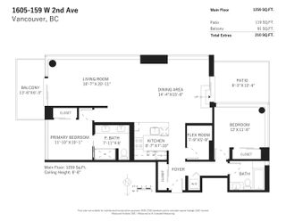 Photo 26: 1605 159 W 2ND AVENUE in Vancouver: False Creek Condo for sale (Vancouver West)  : MLS®# R2623051