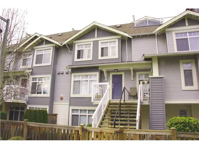 """Main Photo: 7 7428 SOUTHWYNDE Avenue in Burnaby: South Slope Townhouse for sale in """"LEDGESTONE 2"""" (Burnaby South)  : MLS®# V933948"""