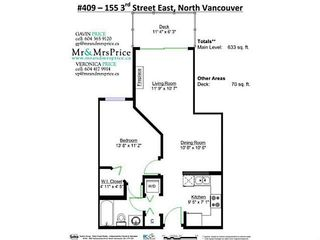 """Photo 16: 409 155 E 3RD Street in North Vancouver: Lower Lonsdale Condo for sale in """"THE SOLANO"""" : MLS®# V1143271"""