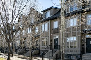 Main Photo: 17 11 Scarpe Drive SW in Calgary: Garrison Woods Row/Townhouse for sale : MLS®# A1103969