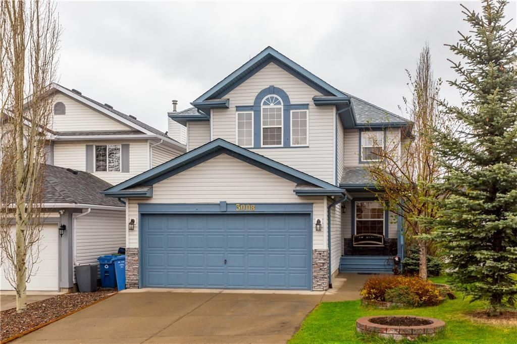 Welcome to 3008 Hidden Ranch Way NW! Freshly painted exterior and landscaped front yard.