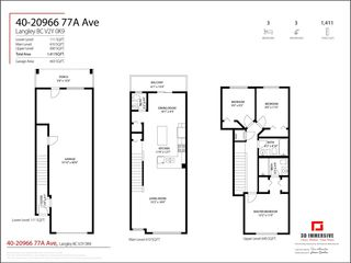 """Photo 26: 40 20966 77A Avenue in Langley: Willoughby Heights Townhouse for sale in """"Nature's Walk"""" : MLS®# R2574825"""