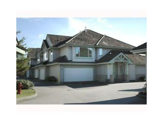 """Photo 1: 43 1255 RIVERSIDE Drive in Port Coquitlam: Riverwood Townhouse for sale in """"RIVERWOOD GREEN"""" : MLS®# V901232"""
