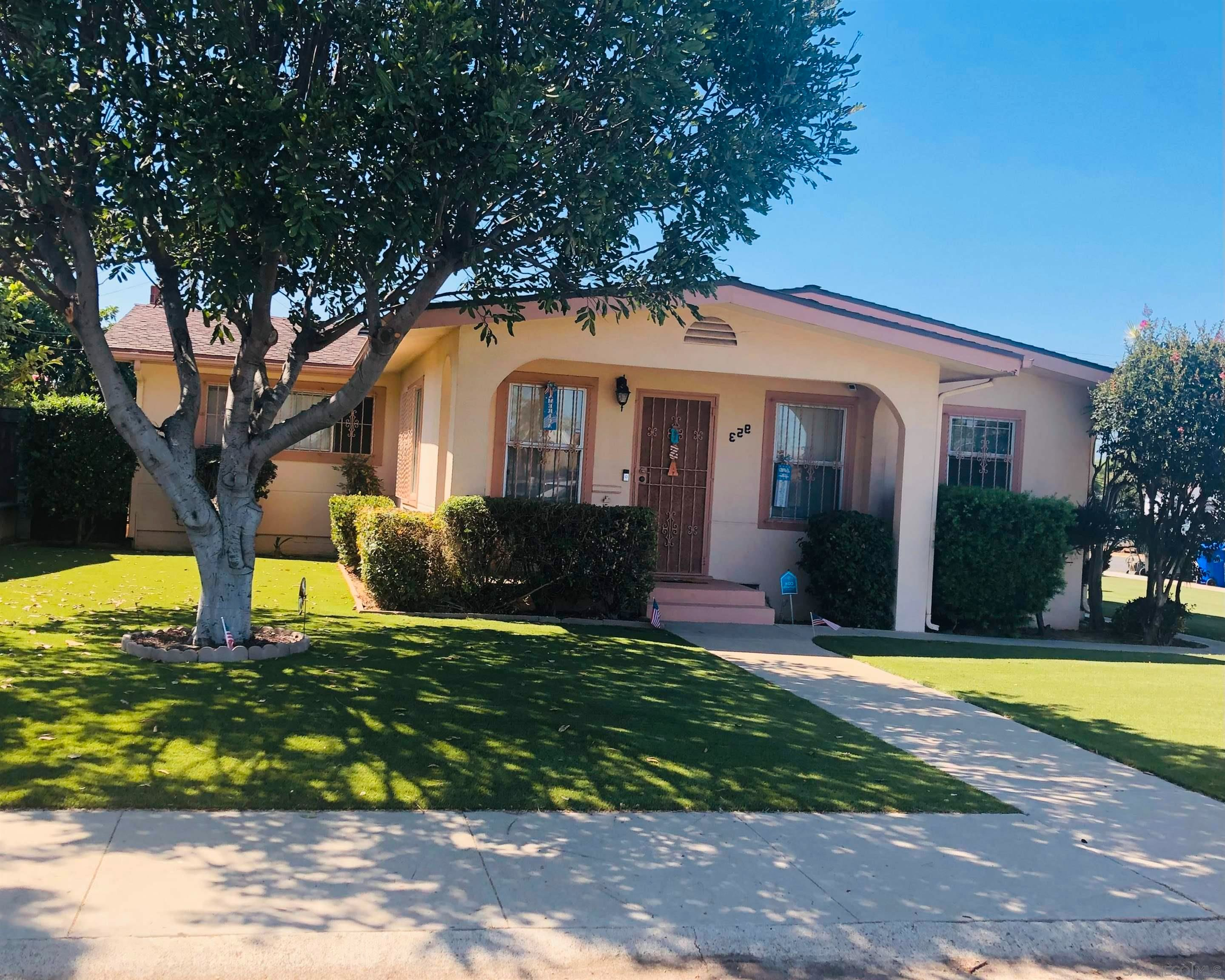 Main Photo: SAN DIEGO House for sale : 3 bedrooms : 953 Harwood Street