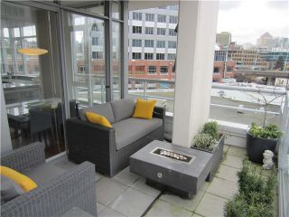 """Photo 9: 402 2055 YUKON Street in Vancouver: False Creek Condo for sale in """"MONTREUX"""" (Vancouver West)  : MLS®# V1051503"""