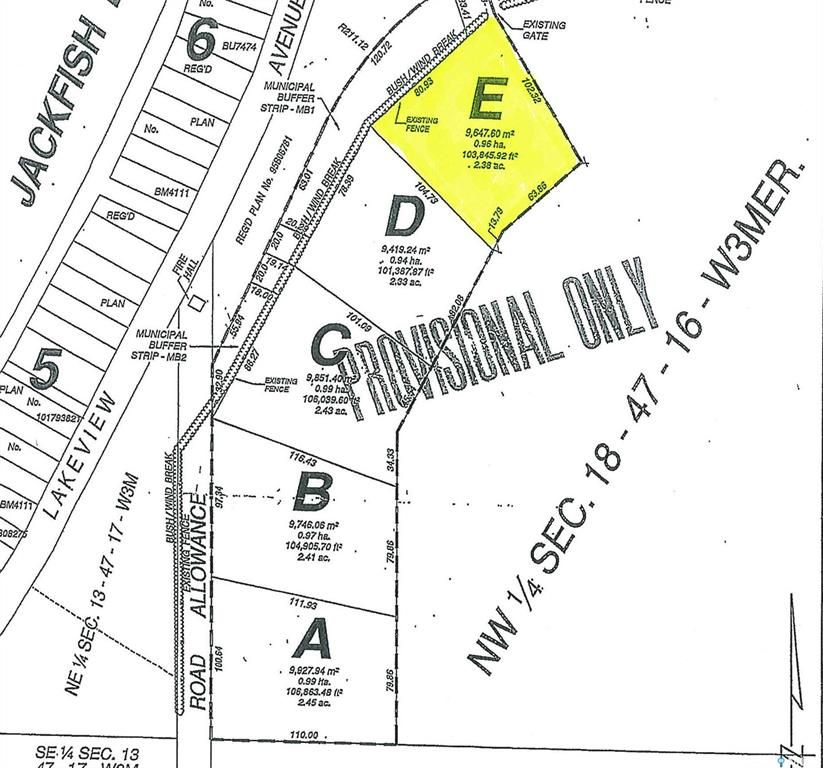 Main Photo: Parcel E-Days Beach Acres-Behind Days Beach in Jackfish Lake: Lot/Land for sale : MLS®# SK859685