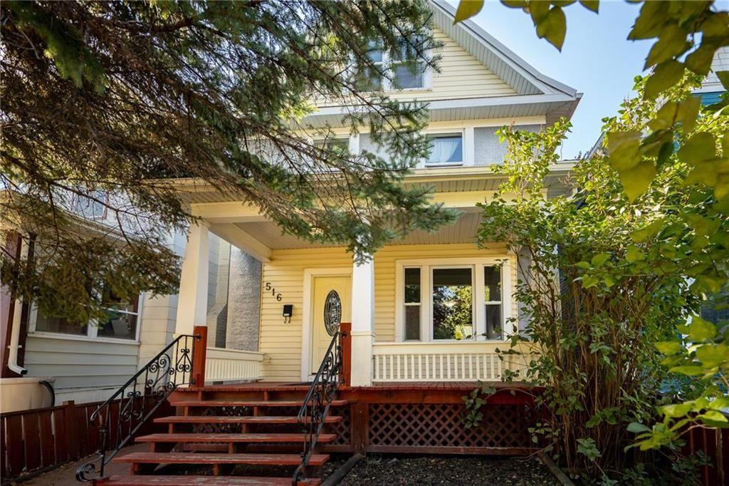 Main Photo: 516 Stiles Street in Winnipeg: Wolseley Residential for sale (5B)  : MLS®# 202124390