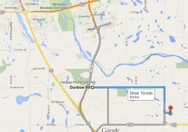 Main Photo: 262034 80 St E in DE WINTON: Rural Foothills M.D. Rural Land for sale : MLS®# C3631915