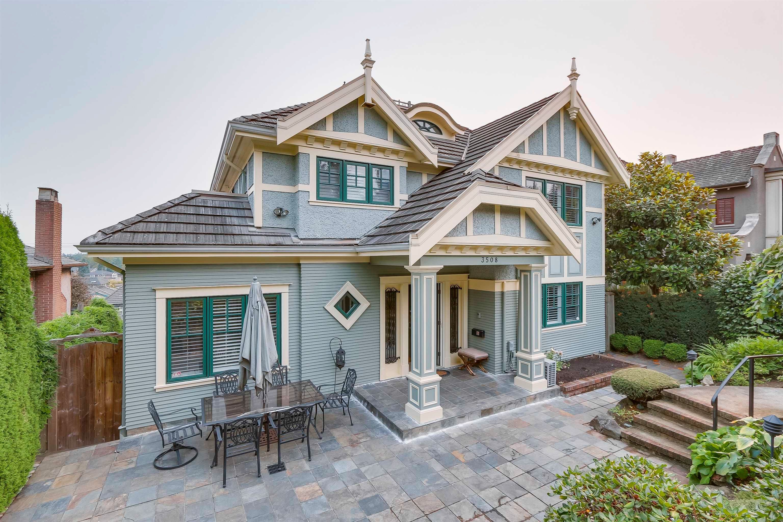 Main Photo: 3508 QUESNEL Drive in Vancouver: Arbutus House for sale (Vancouver West)  : MLS®# R2615397