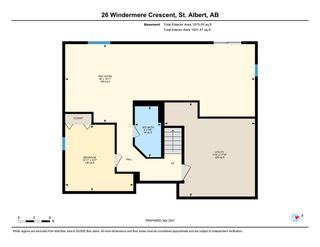Photo 49: 26 Windermere Crescent: St. Albert House for sale : MLS®# E4241763